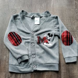 🟢40%Off Bundles Disney Mickey Mouse Cardigan